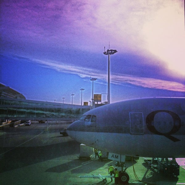 Photo taken at Ankara Esenboğa Airport (ESB) by Zeynep O. on 7/2/2013