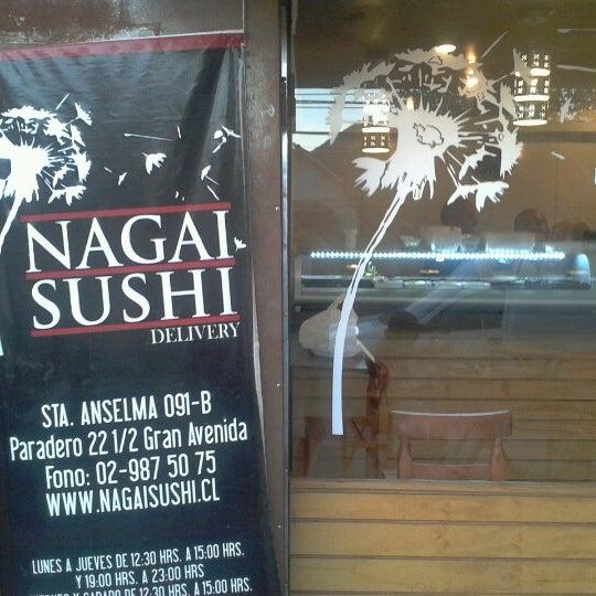 1/2/2013 tarihinde Claudio D.ziyaretçi tarafından Nagai Sushi'de çekilen fotoğraf