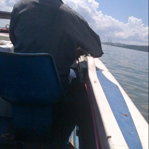 Photo taken at Pelabuhan speedboat kampung baru by M Faisal Y. on 4/13/2013