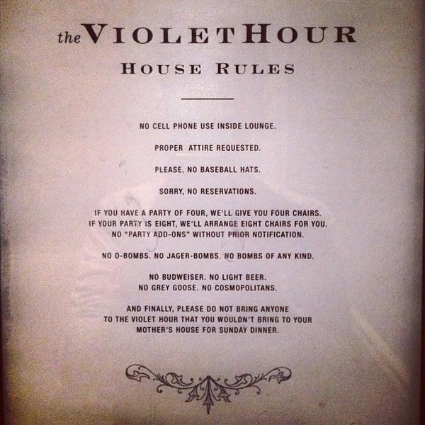 Foto scattata a The Violet Hour da Sean D. il 4/29/2013