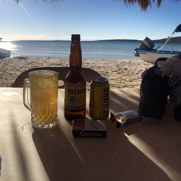 Photo taken at Playa Pichilingue by Leonardo Nicolas D. on 2/25/2017