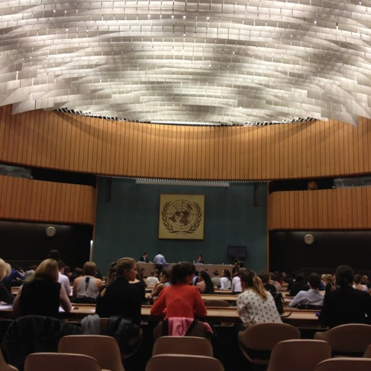 Photo taken at Palais des Nations by Anastasia V. on 10/24/2012