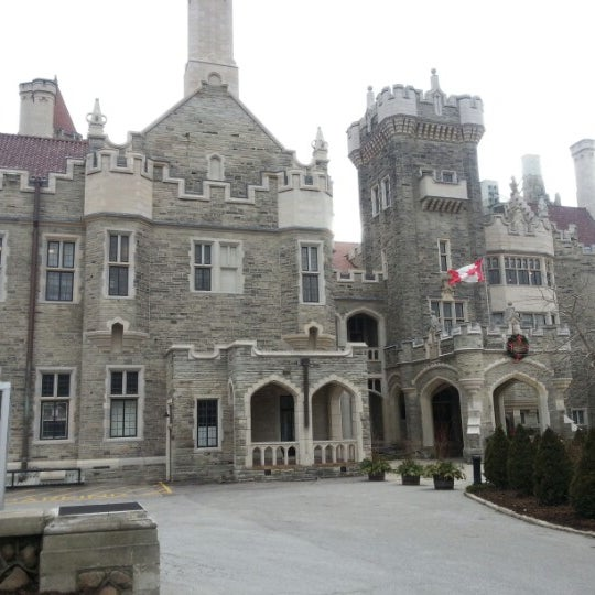 Photo taken at Casa Loma by Fernando A. on 1/14/2013