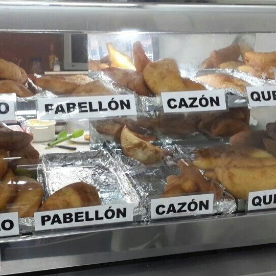 Photo taken at Panadería Los Venezolanos by Elias A. on 12/13/2015