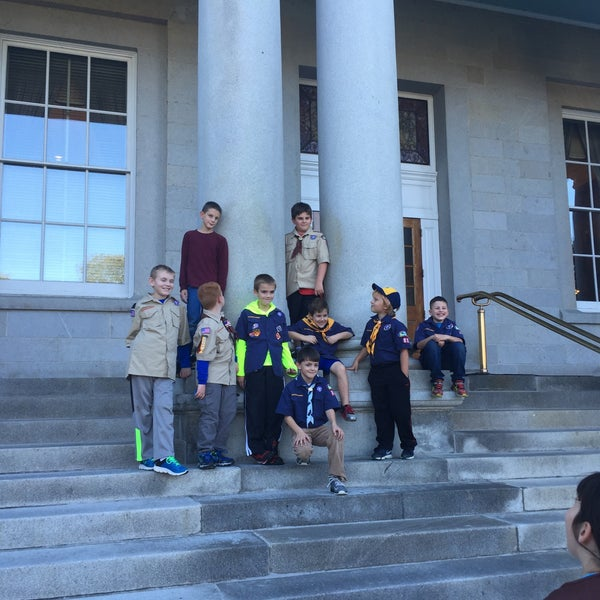 Photo taken at New Hampshire State House by Kitty S. on 10/6/2016