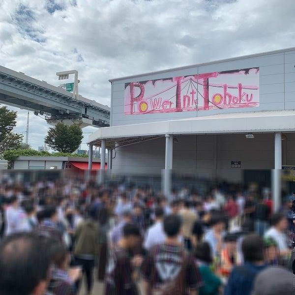 9/23/2018にラ マ.がチームスマイル・豊洲PITで撮った写真