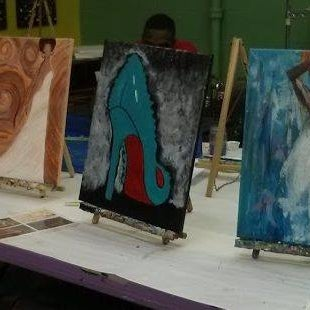 Photo taken at Paint Party Studios by chuck s. on 11/24/2015