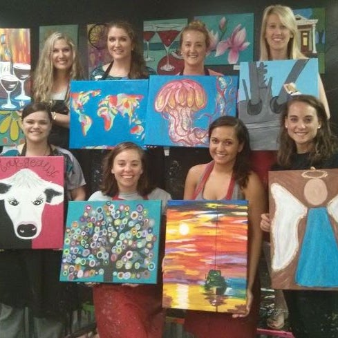 Photo taken at Paint Party Studios by Paint Party Studios on 12/1/2015