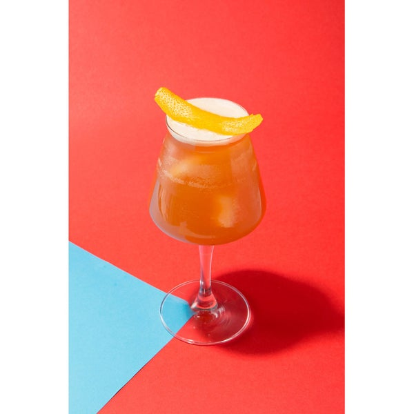 Greg Seider, bartender at Manhattan Cricket Club, reimagined BuzzFeed (the iconic technology company) as the John Lee Hooker. Click Read more for ingredients and details.