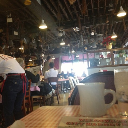 Photo taken at Big Ed's City Market Restaurant by Tammy S. on 12/9/2012