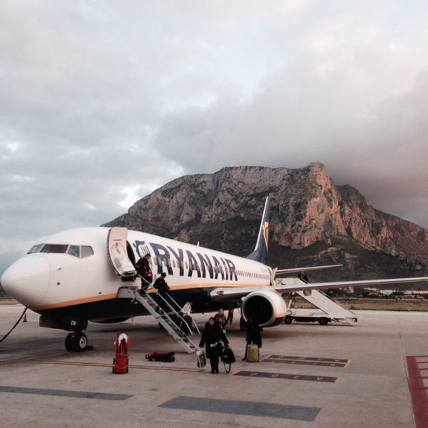 Photo taken at Palermo Airport (PMO) by Zak A. on 12/4/2015