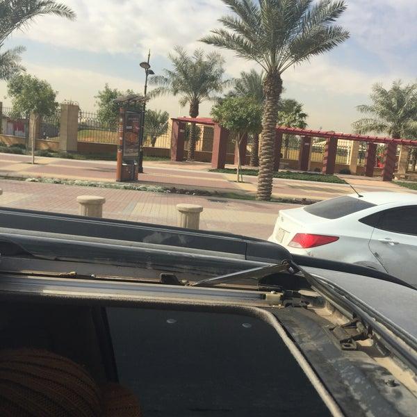 Photo taken at King Abdullah Park by Aloosh9742 A. on 1/4/2016