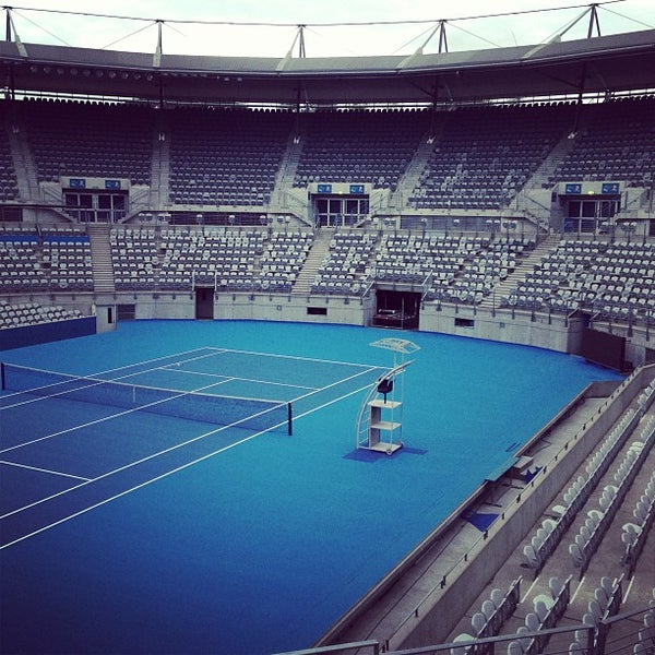 Photo Taken At Sydney Olympic Park Tennis Centre By Rainstop C On 12 21