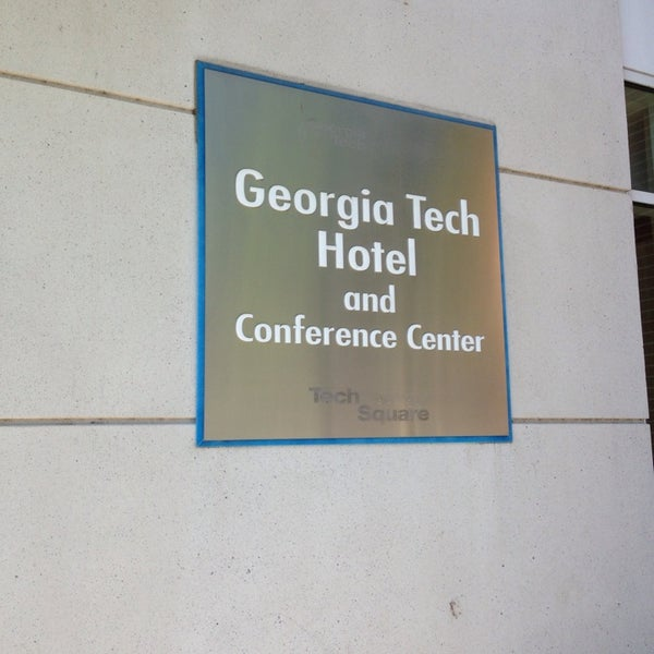 Photo taken at Georgia Tech Hotel and Conference Center by Michael R. on 5/15/2013