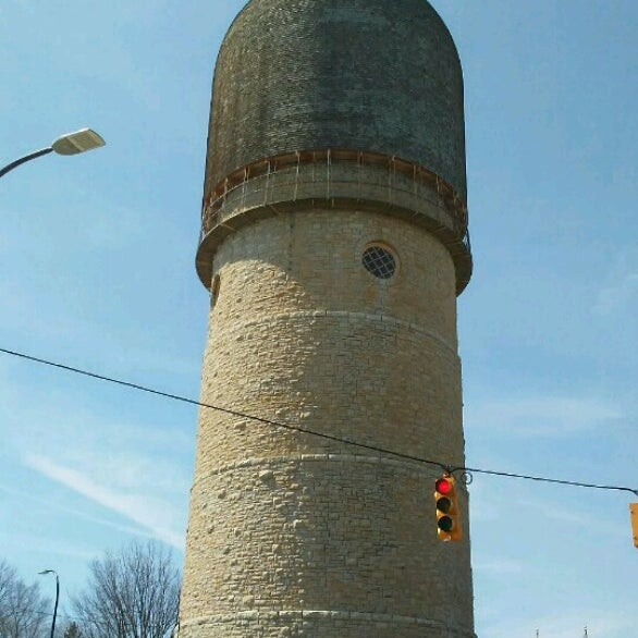 Photo taken at Ypsilanti Water Tower by Amy . on 4/9/2017