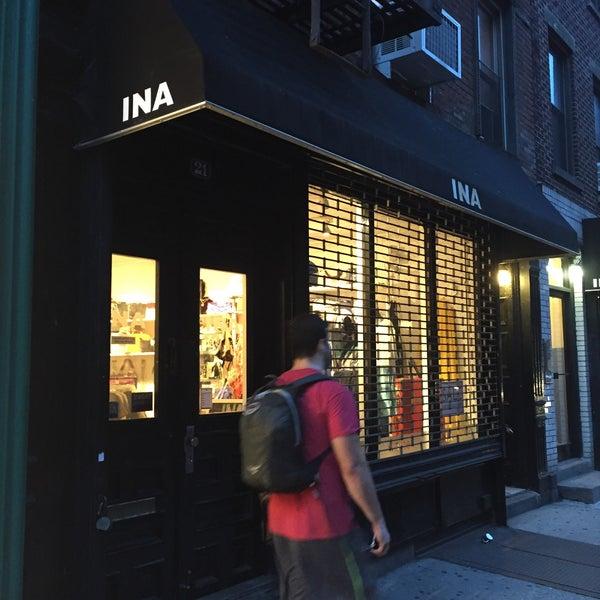 Ina clothing store nyc