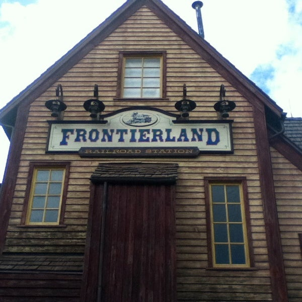 Photo taken at Frontierland by Caio M. on 1/11/2013