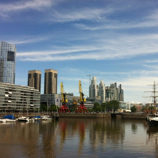 Photo taken at Puerto Madero by Diogo F. on 11/16/2012