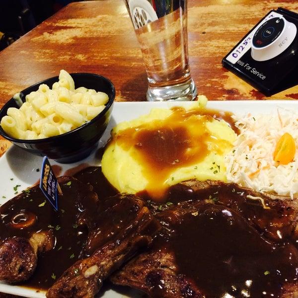 Photo taken at LeBOSS Restaurant by Saya H. on 2/15/2016