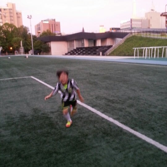 Photo taken at 현대고등학교 by Woohyun K. on 9/15/2012