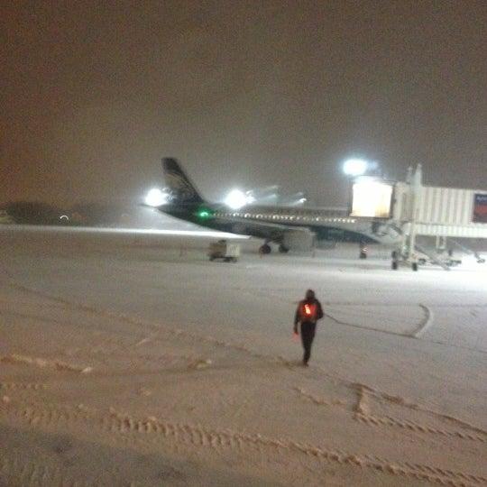 Photo taken at Portland International Jetport (PWM) by Cara M. on 12/17/2012