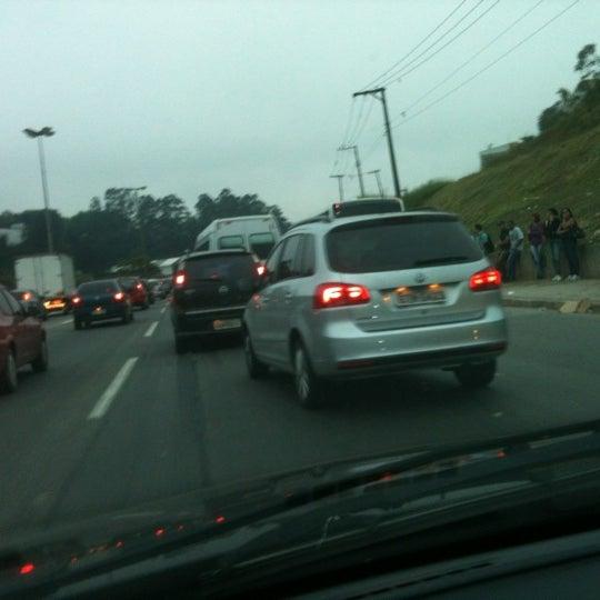 Photo taken at Rodovia Raposo Tavares by Cleiton A. on 10/4/2012