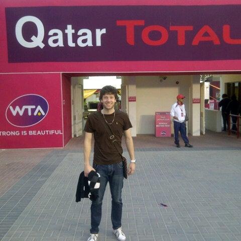 Photo taken at Qatar Tennis Federation by Arthur L. on 2/17/2013