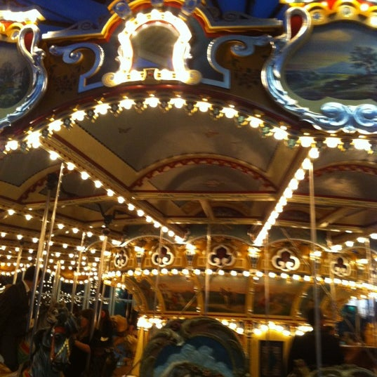 Photo taken at Jane's Carousel by ted h. on 10/21/2012