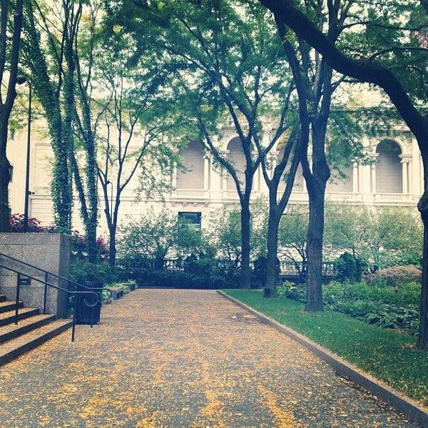 Photo taken at Sculpture Garden - Art Institute of Chicago by Mandy C. on 10/6/2013