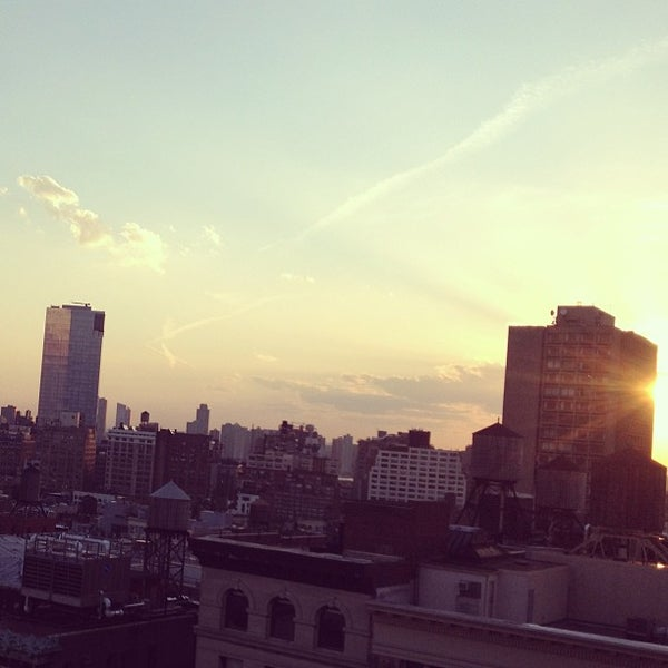 Photo taken at Meetup HQ Roof Deck by Harrison W. on 5/16/2013