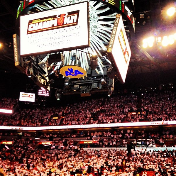 Photo taken at American Airlines Arena by Steven J. on 6/4/2013