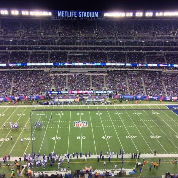 Photo taken at MetLife Stadium by Nimer Y. on 10/22/2013