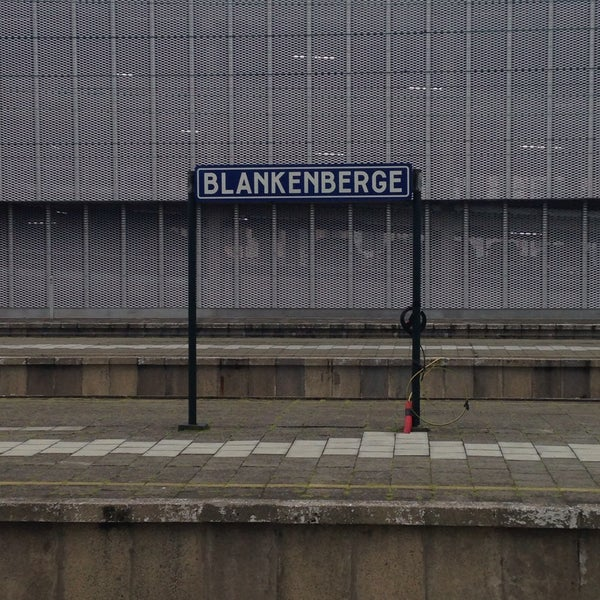 Photo taken at Station Blankenberge by Floor T. on 5/22/2016