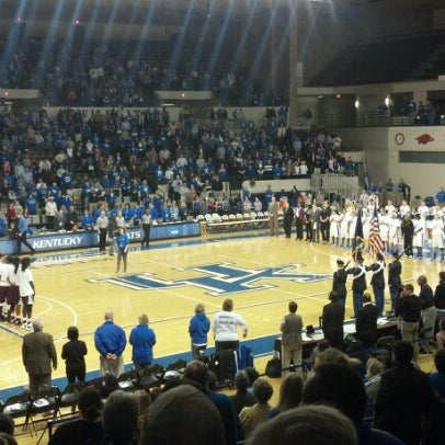 Photo taken at Memorial Coliseum by Beth K. on 1/17/2013