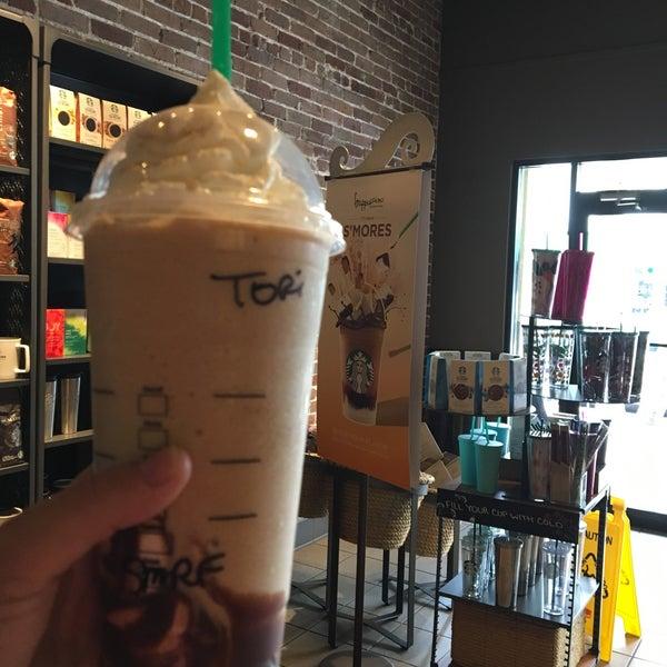 Photo taken at Starbucks by Tori A. on 6/3/2017