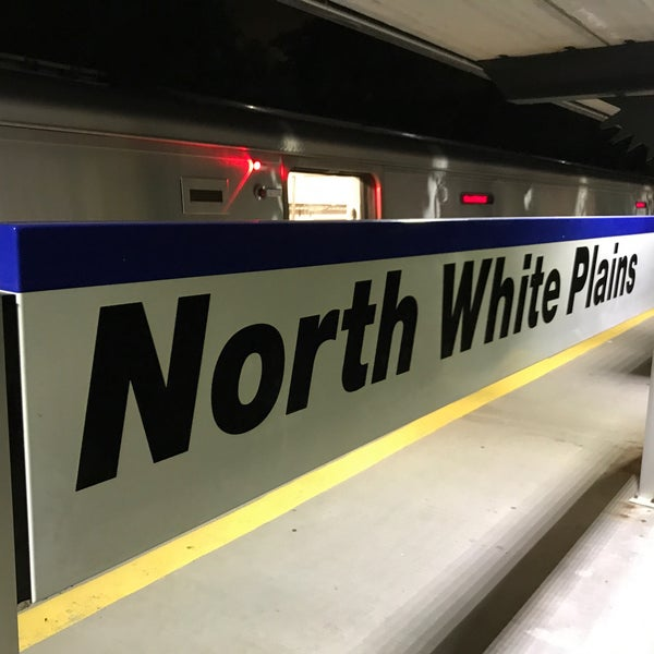 Photo taken at Metro North - North White Plains Station by Albert T. on 8/13/2017
