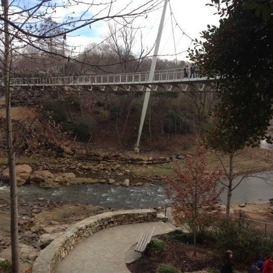 Photo taken at Liberty Bridge by Page B. on 1/5/2013