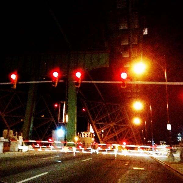Photo taken at Hamilton Avenue Bridge by Dave K. on 11/4/2013