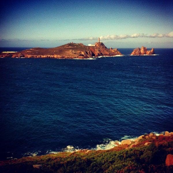 Photo taken at Faro de Cabo Vilán by Diego A. on 10/11/2013