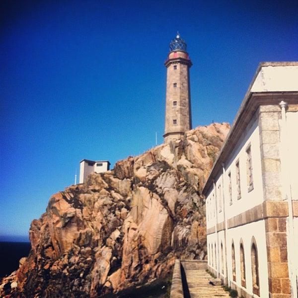 Photo taken at Faro de Cabo Vilán by Diego A. on 10/8/2013