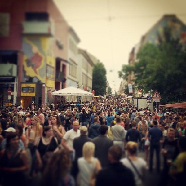 Photo taken at BRN - Bunte Republik Neustadt by David H. on 6/15/2013