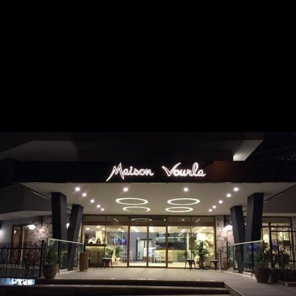 4/4/2017 tarihinde Gökhan Duygu K.ziyaretçi tarafından Maison Vourla Hotel'de çekilen fotoğraf
