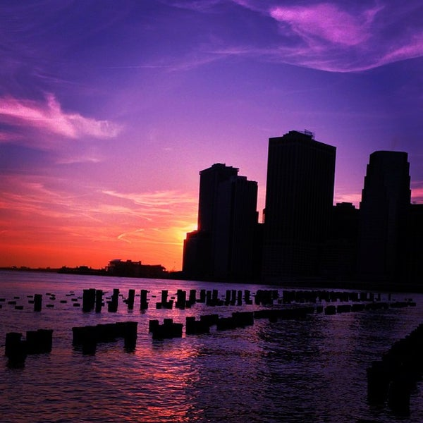 Photo taken at Brooklyn Bridge Park by mido on 4/7/2013
