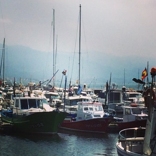 Photo taken at Santoña by Anabel L. on 7/26/2014
