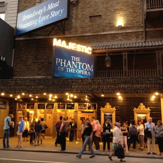 Foto tirada no(a) Majestic Theatre por Shabana C. em 10/1/2012