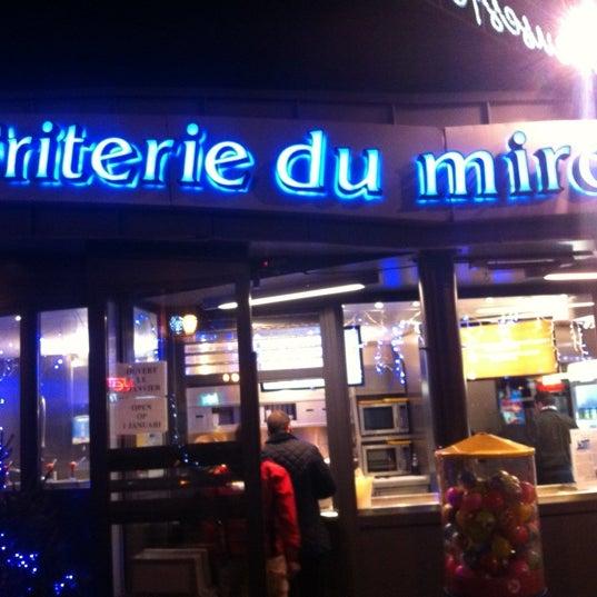 Frituur de spiegel friterie du miroir jette centre for Miroir jette