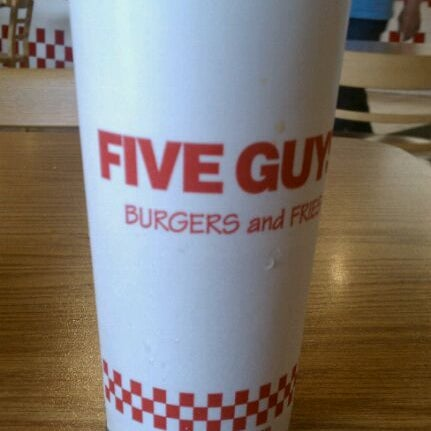 Photo taken at Five Guys by Taylor on 4/19/2011