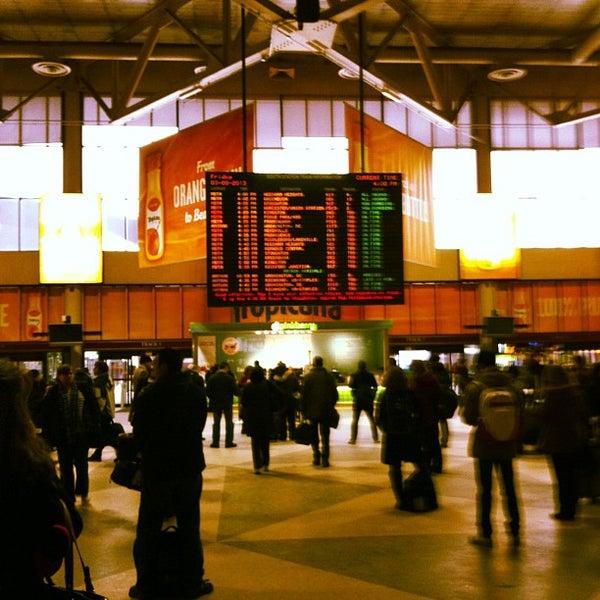 Photo taken at South Station Terminal (MBTA / Amtrak) by John on 3/8/2013