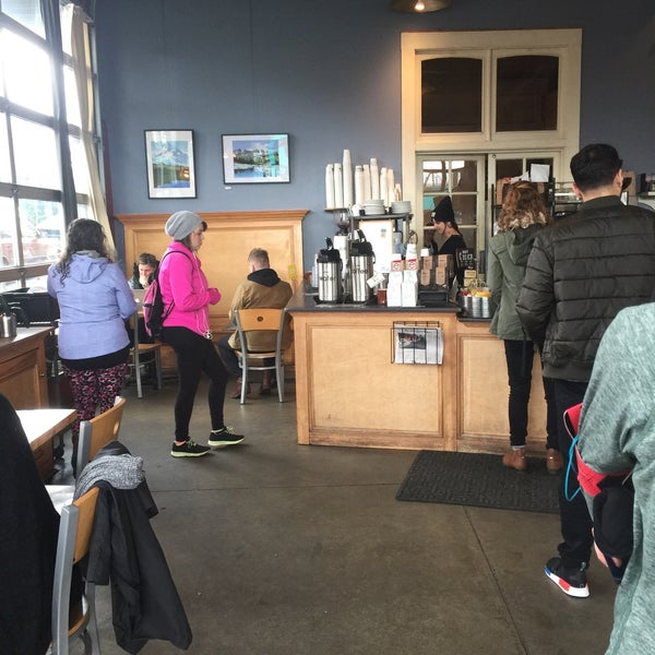 Photo taken at Crema Bakery and Cafe by Mike M. on 3/18/2017
