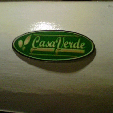 Photo taken at Casa Verde by Abet P. on 10/20/2012